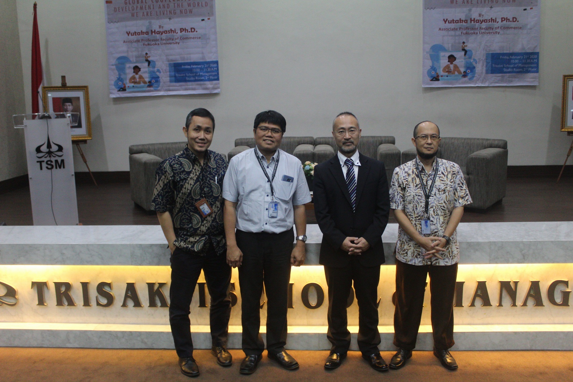 "Seminar Internasional ""Global Cooperation: Development and the World We Are Living Now"""
