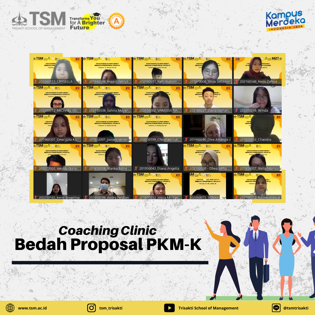 Coaching Clinic Bedah Proposal PKM-K