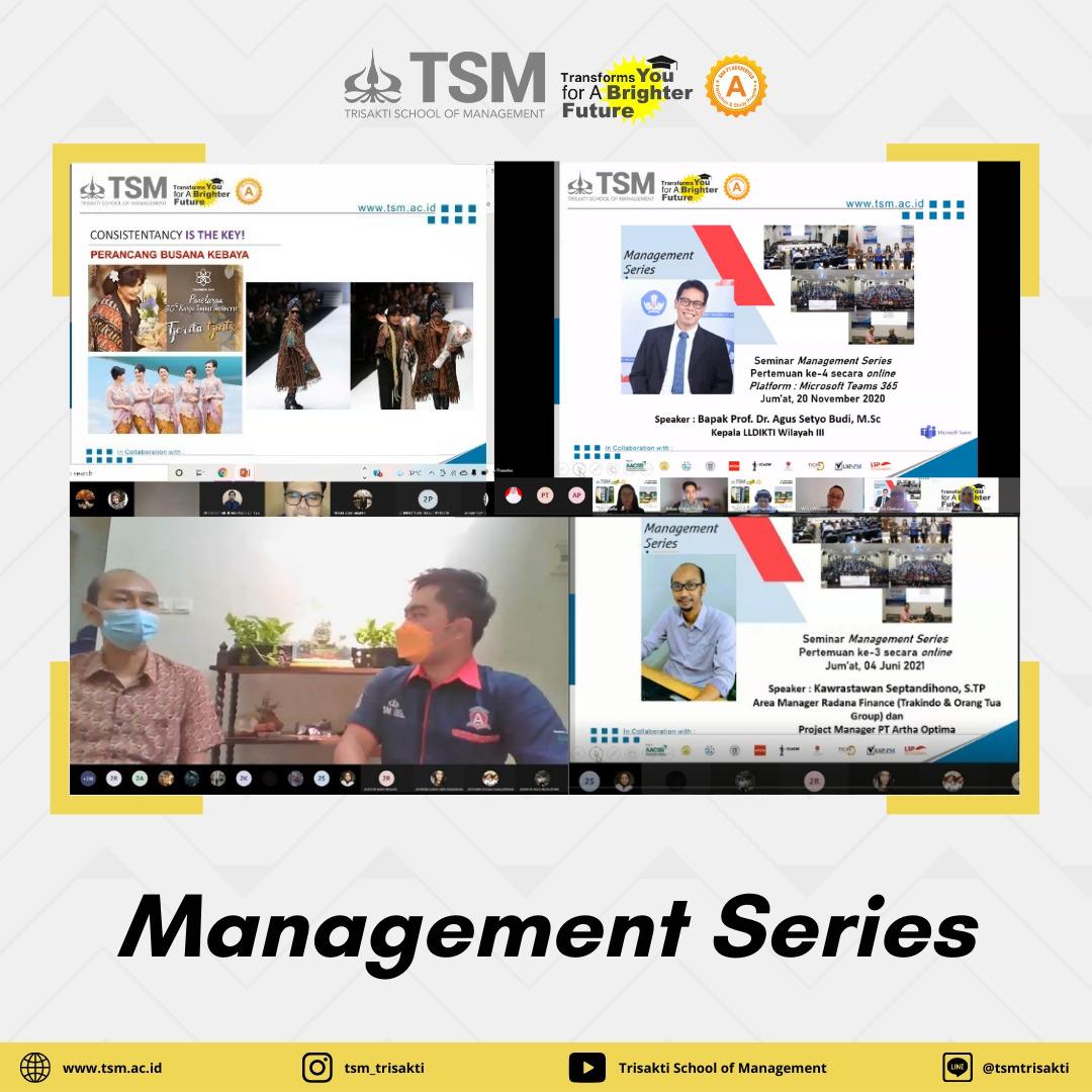 Self Upgrade Melalui Management Series