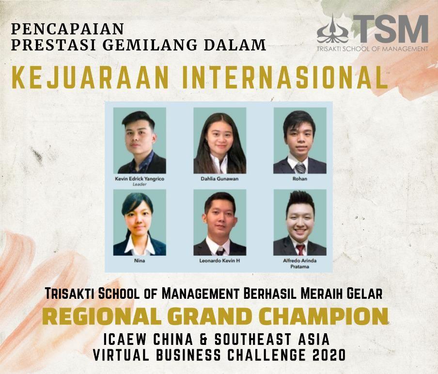 Prestasi Internasional Kembali Diraih oleh Tim TSM